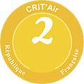 Pastille Crit'air 2