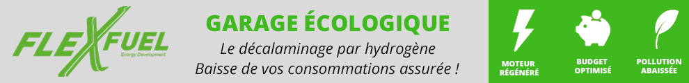 Flexfuel - Garage écologique. Le décalaminage par hydrogène.